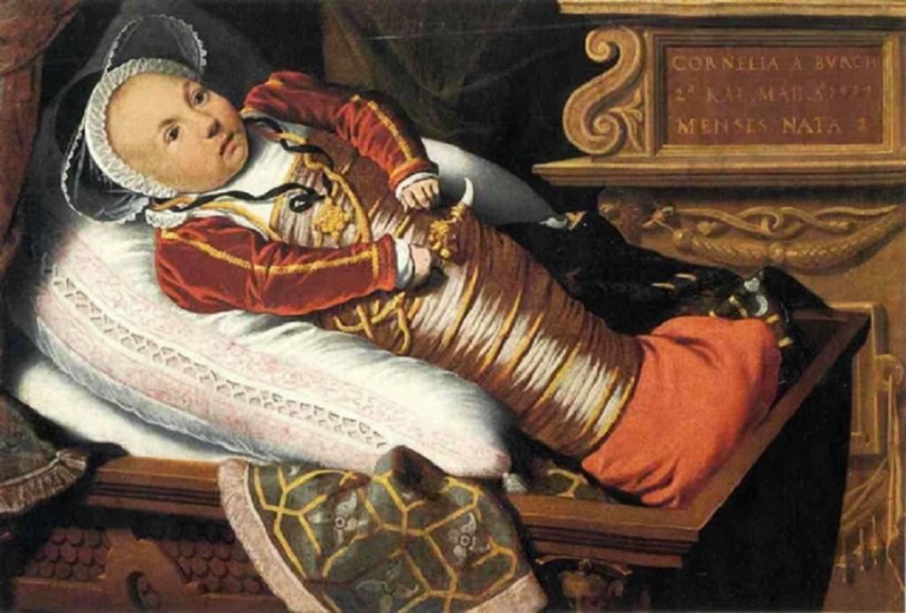 Младенцы в средние века