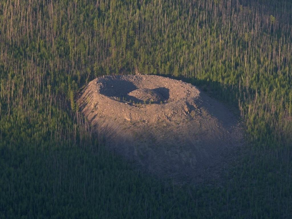 Патомский кратер: загадочное образование в сибирской тайге